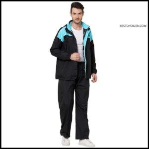 ZEEL Men's raincoat with hood