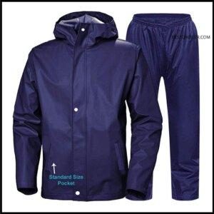 Zoom Rain Waterproof Bike-Reversible Raincoat