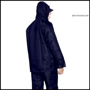 Fashion Dream Men's Polyester Waterproof Rain Coat